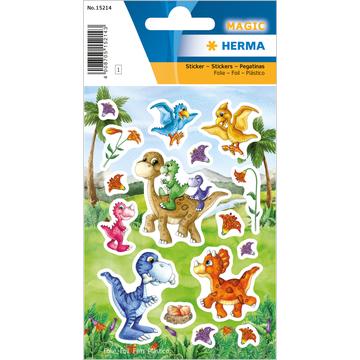 Herma: Stickere cu model dinozauri
