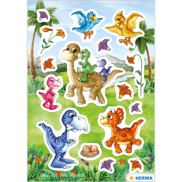 Herma: Stickere cu model dinozauri - .foto