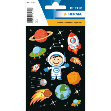 Herma: Űrhajós matrica