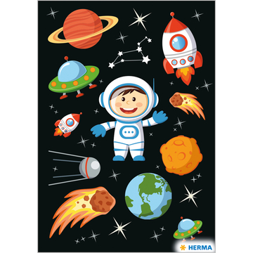 Herma: Űrhajós matrica - . kép