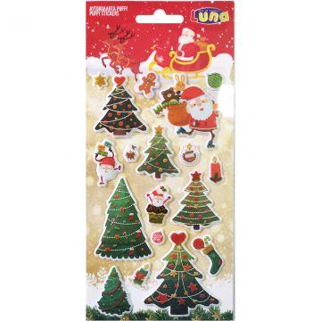 Karácsonyi matrica - többféle - . kép