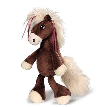 Nici: Velvet figurină cal de pluș - 35 cm