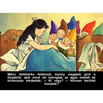 Hófehérke és a hét törpe - angol nyelvű