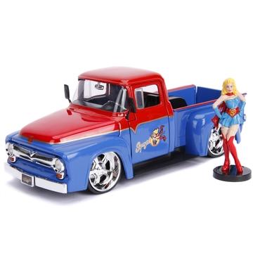 DC Comics: Bombshells Supergirl és 1956 Ford F-100 Pickup 1:24 - . kép