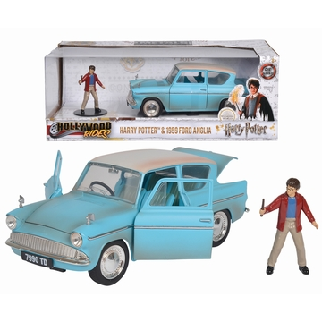 Harry Potter: 1959 Ford Anglia fémautó 1:24