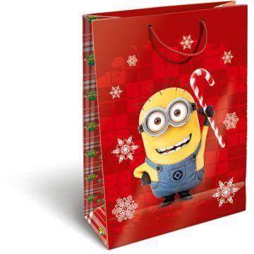 Minyonok: Karácsonyi ajándéktasak - kétféle, 24 x 10 x 32 cm - . kép