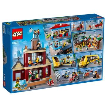 LEGO City Piața principală 60271 - .foto