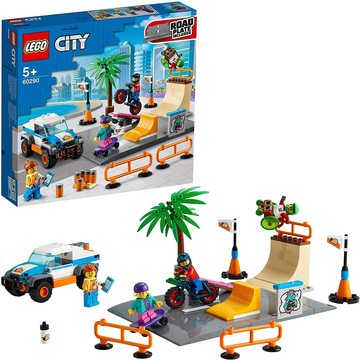 LEGO City: Gördeszkapark 60290