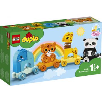 LEGO DUPLO My First: Állatos vonat 10955 - . kép