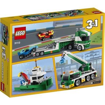 LEGO Creator: Versenyautó szállító 31113 - . kép
