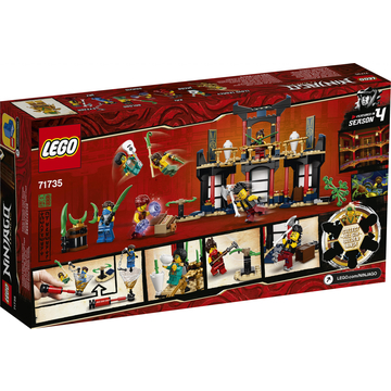LEGO Ninjago: Az elemek bajnoksága 71735 - . kép