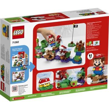 LEGO Super Mario: Set de extindere Provocarea Plantei Piranha 71382 - .foto