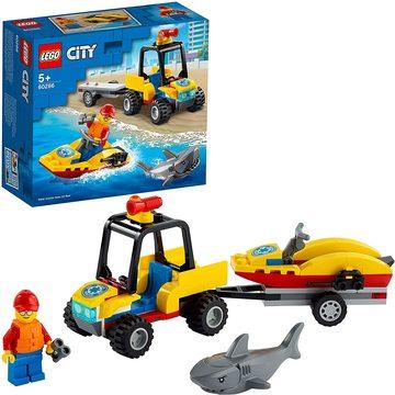 LEGO City: Great Vehicles Tengerparti mentő ATV jármű 60286