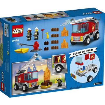 LEGO City: Fire Létrás tűzoltóautó 60280 - . kép