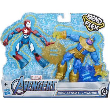 Marvel: Avengers - Bend and Flex Hadigép és Thanos figurák