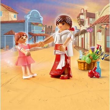 Playmobil Szilaj: Fiatal Lucky és Milagro 70699 - . kép