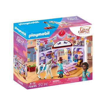 Playmobil Szilaj: Lovasbolt 70695