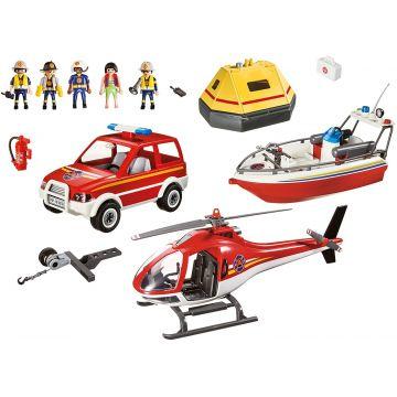 Playmobil: Tűzoltó mentőakció 9319 - CSOMAGOLÁSSÉRÜLT - . kép