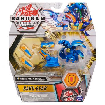 Bakugan: Baku-Gear - Sabra x Pyravian - kék, arany