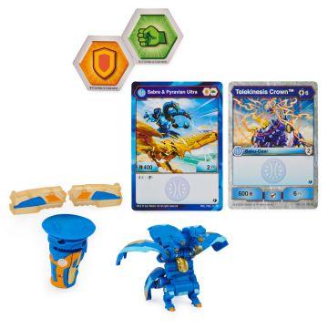 Bakugan: Baku-Gear - Sabra x Pyravian - kék, arany - . kép