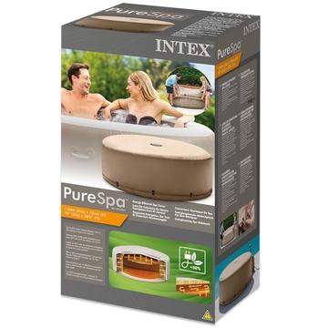 Intex: PureSPA Husă pentru piscină SPA eficientă energetic - potrivit pentru SPA Sahara Tan - .foto