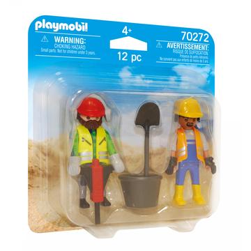 Playmobil: Muncitori în construcții 70272