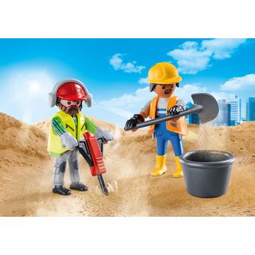 Playmobil: Muncitori în construcții 70272 - .foto