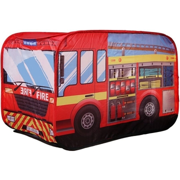Iplay: Cort de joacă Camion de pompieri