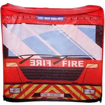 Iplay: Cort de joacă Camion de pompieri - .foto