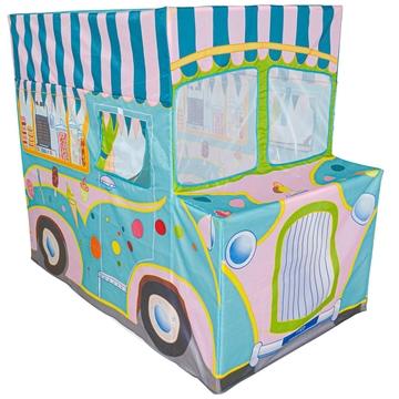 Iplay: Cort de joacă Camion de înghețată - .foto