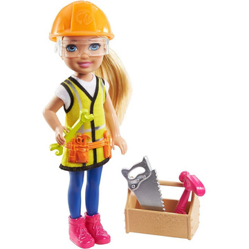 Barbie: Chelsea karrierbaba - építőmunkás