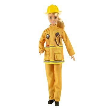 Barbie: Deluxe karrier játékszett - tűzoltó - . kép