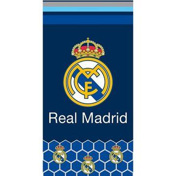 Real Madrid: Címeres strandtörölköző - 70 x 140 cm