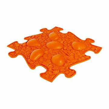 Muffik: Puha Dinó tojás kiegészítő darab szenzoros szőnyegekhez - narancssárga