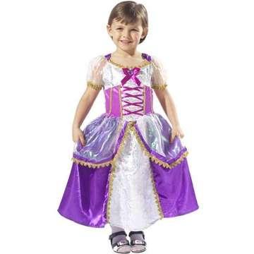 Costum Prințesă de culoare mov- mărime S, 3-4 ani