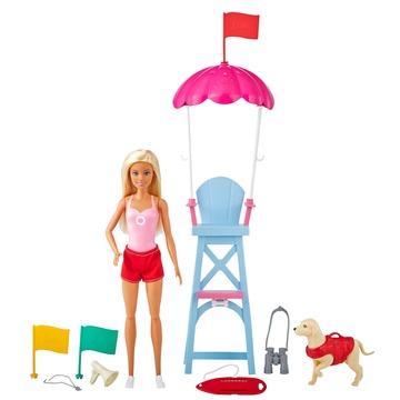 Barbie: Sportos játékszett - vízimentő Barbie - . kép