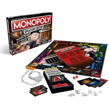 Monopoly Szélhámosok - román nyelvű társasjáték - CSOMAGOLÁSSÉRÜLT - . kép