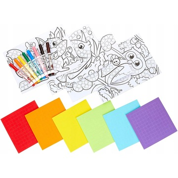 Crayola: Mozaik Mánia színező készlet - . kép