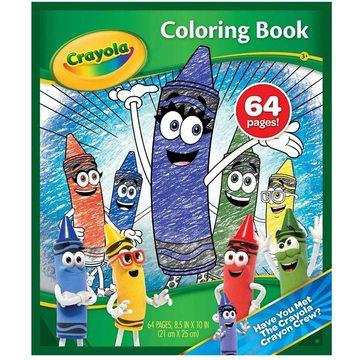 Crayola: Színező 64 oldalas - A4
