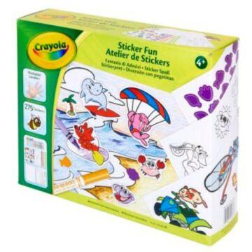 Crayola: Matrica Móka készlet 500 darabos