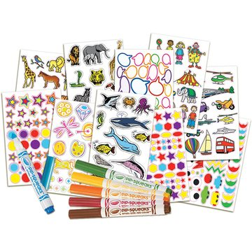 Crayola: Matrica Móka készlet 500 darabos - . kép