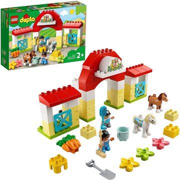 LEGO DUPLO Város: Lóistálló és pónigondozás 10951