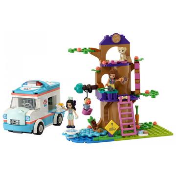 LEGO Friends: Ambulanța clinicii veterinare - 41445 - .foto