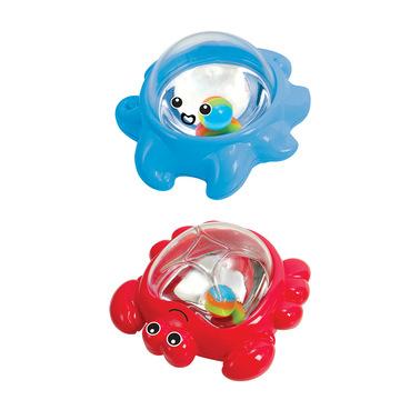 Playgo: Állatos bébi fürdőjáték - polip és tarisznyarák