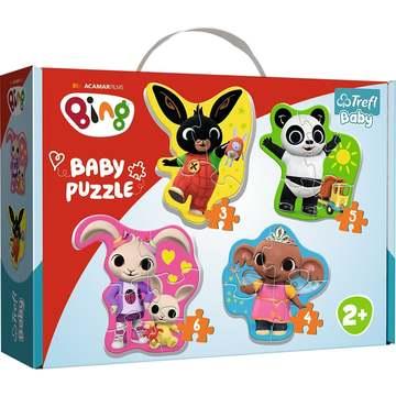 Trefl: Bing és barátai bébi forma puzzle