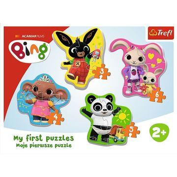 Trefl: Bing és barátai bébi forma puzzle - . kép