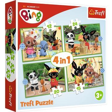 Trefl: Bing 4 az 1-ben puzzle