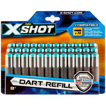 X-Shot 36 darabos szivacslövedék utántöltő