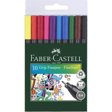 Faber-Castell: Színes tűfilc készlet - 10 db-os
