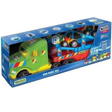 Wader: Magic Truck Basic - kamion buggy autókkal - . kép